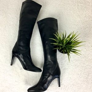 Cole Haan pull on boots